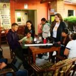 Trabalhando em equipe com a Red Nacional por la Integridad - Guatemala