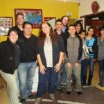Jovens da Red do município de Huehuetenango