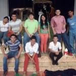 O grupo de jovens voluntários parte da Pastoral Social.