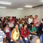Público presente na inauguração